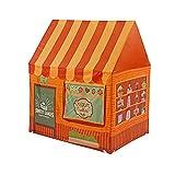Kinderspielhaus Innen Nachtisch Zelt Spielzeug Baby Zelt Grün Tuch Mädchen Prinzessin Zimmer Kann Indoor Outdoor(Orange)