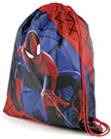 Kids Childrens Marvel Comics Avengers Spiderman Drawstring School Gym Swim Shoe Bag