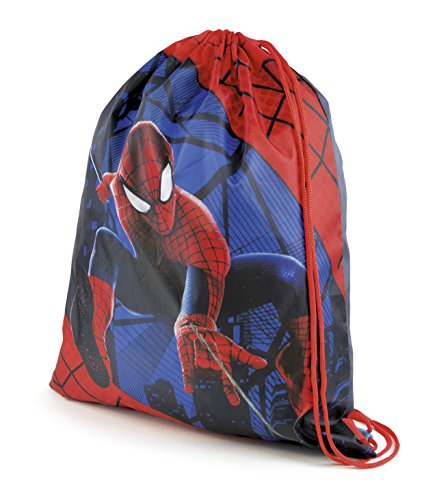 Boys-Girls-Kids-Childrens-Disney-Mickey-Minnie-Mouse-Avengers-Spiderman-Frozen-Elsa-Anna-Olaf-Princess-Sofia-Snow-White-Star-Wars-Drawstring-School-Gym-Swim-Bag