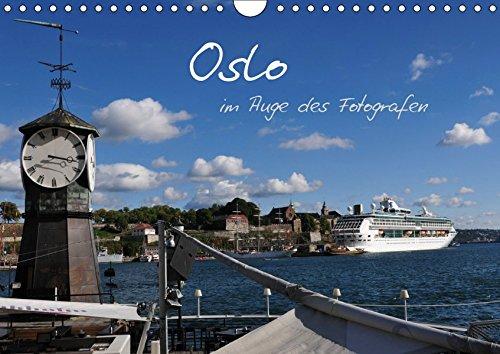 Oslo im Auge des Fotografen (Wandkalender 2019 DIN A4 quer): Oslo, zwischen Bergen und Meer (Monatskalender, 14 Seiten ) (CALVENDO Orte)