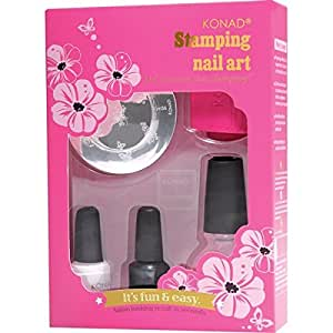 Coffret Konad SILVER Stamping nail art