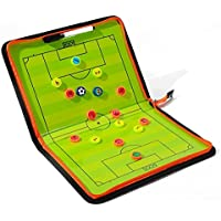 Katech Fußball Taktik Strategie Board tragbar Fußball Trainer Magnettafel Set Guten Fußball Trainingsgerät