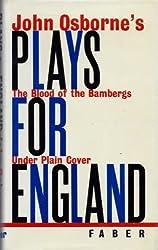 JOHN OSBORNE'S PLAYS FOR ENGLAND.
