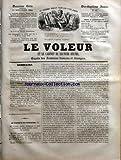 VOLEUR (LE) [No 63] du 15/11/1844 - LE VICOMTE DE KERBOZEC PAR G. DE LA LANDELLE - LA QUESTION DEVANT HENRI III PAR FAUVRE - L'EMPEREUR DE CHINE ET LA PRINCESSE YIHANIKA PAR AL. LAUNOY - EMILE SOUVESTRE - AL. KARR - FRANCIS WEY - THEATRES - MM. LOCKROY - JAIME ET MARC-MICHEL - SAINT-AMAND - MODES