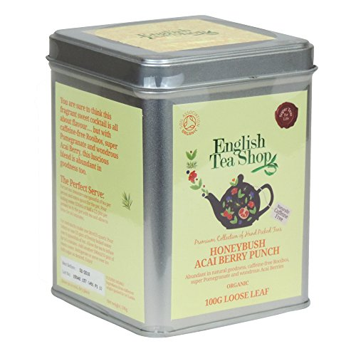 English Tea Shop - Honeybush Acai Berry Punch - Loose Leaf Tea - 100g
