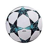 Cutogain 5dimensioni palla da calcio in pelle PU all' aperto per bambini Match palle da allenamento bambini regali, White