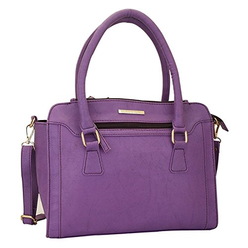 Lapis O Lupo Lila Damen Handtasche Lila Multifunktionstasche Design (Lapis Lila)