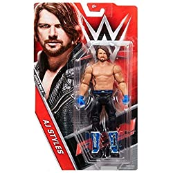 WWE AJ Stili 'Il Fenomenale Uno' Serie Basic 68.5 Wrestling Action Figure