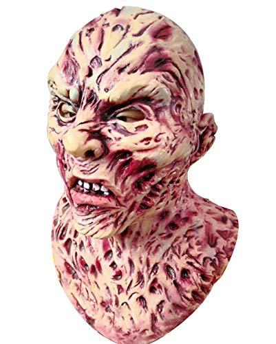 Huaaag Zombie-Masken, Horror-Masken, Vollkopf-Maske, Resident Böse Monster-Maske, Zombie-Kostüm-Party Gummi-Latex-Maske Für ()