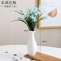 SER ITYHTR Dekoration Keramik Kleine Frischwasserkultur Vase Weiß Tisch  Wohnzimmer Dekoration Dekoration Modern Minimalist Kreative Blume