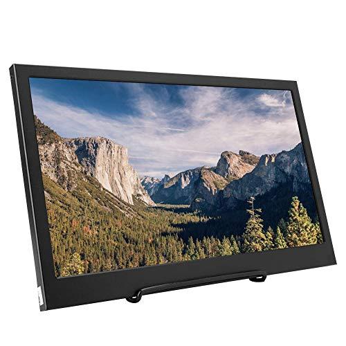 Garsent Monitor HDMI 1080p 13,3 Pollici, Schermo LED IPS Portatile 1920x1080 Display 2 Porte HDMI per PS3 / 4, Xbox, Raspberry Pi, Windows, Porta Micro USB(HDMI)