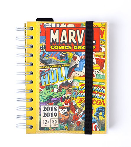 Grupo Erik ADPWI1804 Diario Scolastico giornaliero 2018/2019 Marvel