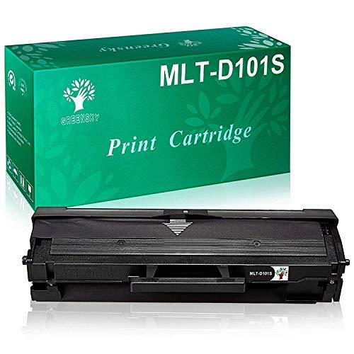 GREENSKY MLT-D101S Toner Samsung Compatibile MLT-D101S D101S 101S Cartucce per ML-2160 ML-2161 ML-2162 ML-2162G ML-2165 ML-2165W ML-2166W ML-2168 SCX-3400 SCX-3401 SCX-3400F SCX-3401FH(1 pack)