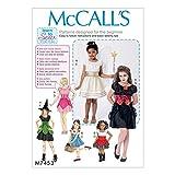 Unbekannt McCall 's Mädchen Easy Learn To Sew Schnittmuster 7453Fee, Hexe, Pirat & Angel Kostüme