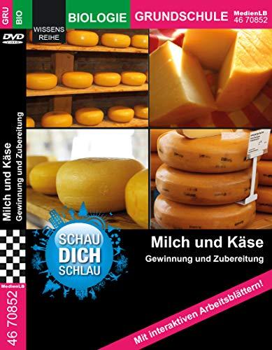 Milch und Käse (SDS) - Gewinnung und Zubereitung Nachhilfe geeignet, Unterrichts- und Lehrfilm
