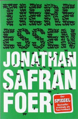 Buchseite und Rezensionen zu 'Tiere essen' von Jonathan Safran Foer
