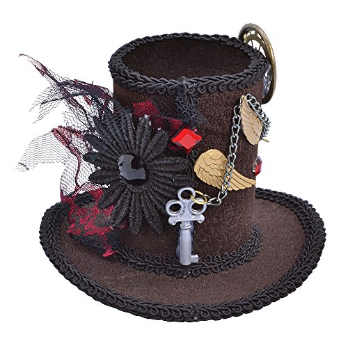 Sombrero alto extravagante