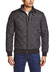 Arrow New York Mens Polyster Jacket (8907036906936_AJOY9405_M_Black)