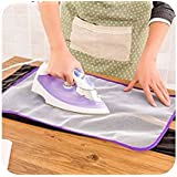 Fenfang clothing Ironing Cloth, Ironing Pad Protective Insulation Scorch Mesh Cloth- (Pack of 2)
