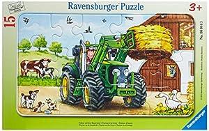 Ravensburger 06044 - Puzle (15 Piezas), diseño de Tractor