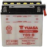 YUASA YB9-B Powersports AGM Motorrad Batterie, wartungsfrei (Preis inkl. EUR 7,50 Pfand)