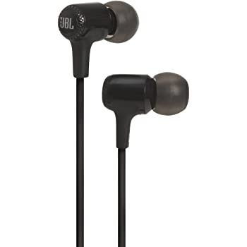JBL E15 in-Ear Headphones with Mic (Black)