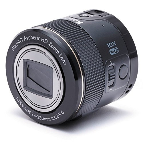 kodak-sl10-black-pixpro-heads-lente-per-smartphone-nero