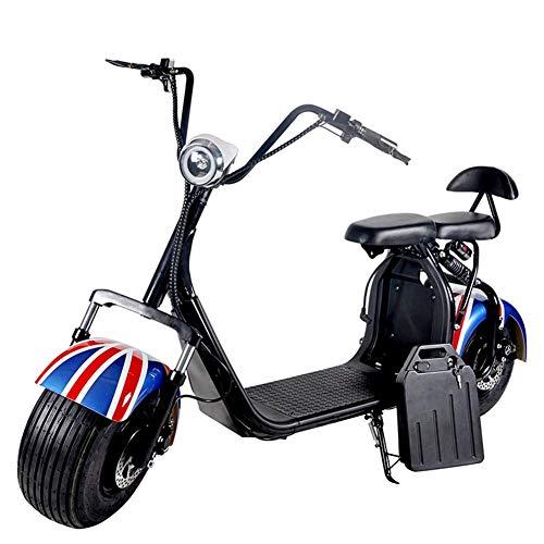 OOBY Q4 Harley Motocicleta Eléctrica Adulto Scooter-Múltiples Colores para Elegir-20A.