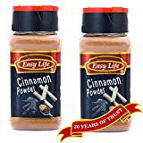 #9: Easy Life Combo of Cinnamon Powder 65g (Pack of 2)