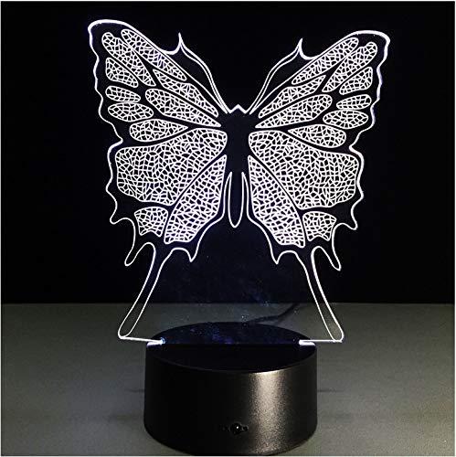 ng Führte Nachtlicht-Lampe Mit 7 Farbmagischen Stimmungslicht-Schlafzimmer-Dekorations-Kunst-Geschenken ()