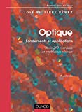 Optique - Fondements et applications