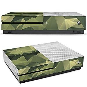 DeinDesign Skin kompatibel mit Microsoft Xbox One S Aufkleber Folie Sticker Camouflage Muster Tarnfarben