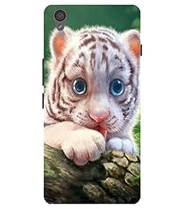 Citydreamz Cute Cub\Cartoon\Wild\jungle Hard Polycarbonate Designer Back Case Cover For OnePlus X
