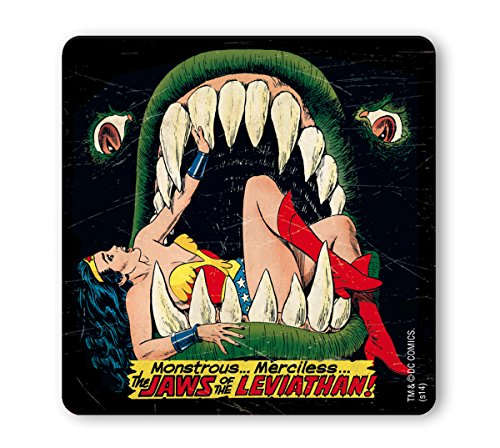 dc-comics-superhero-wonder-woman-the-jaws-of-the-leviathan-coaster-drink-mat-original-licensed-produ