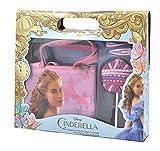 Cinderella - Confezione Regalo Borsetta Shopping con Accessori Capelli