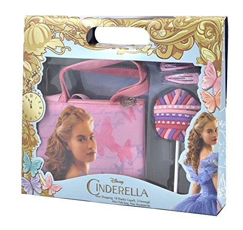 Cinderella–Geschenkbox Handtasche Shopping mit Zubehör (Haar Cinderella)