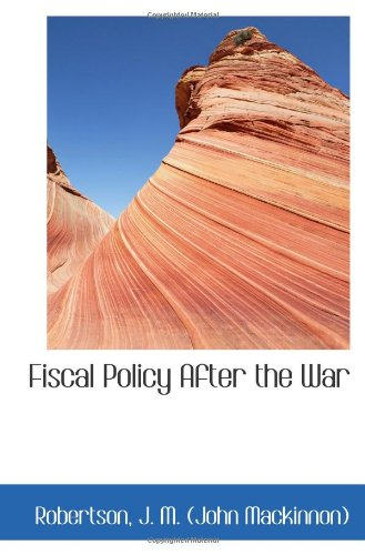 Fiscal Policy After the War