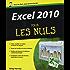 Excel 2010 Pour les Nuls