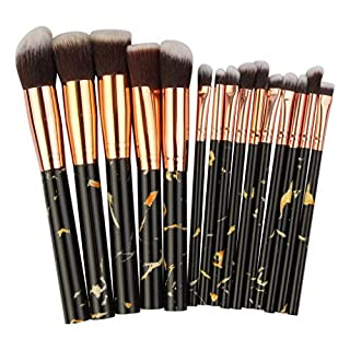 SANFASHION 15Pcs Multifunctional Makeup Brush Concealer Eyeshadow Brush Set Tool Best Gift And You Deserve It Cheap Shouldn't Miss It Beautiful Present Festival