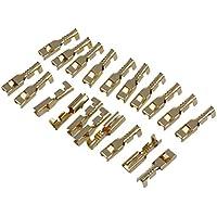 Conectores - SODIAL(R) 20pzs Terminales de alambre cable espada hembra para conectores de 2,8 mm