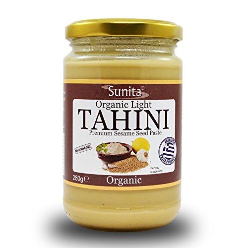 Sunita Greek Sesame Spread Organic Light Tahini 280 g (Pack of 3) Test