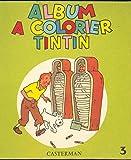 Album à colorier Tintin N°3 1961...