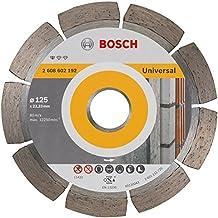 Bosch Disco di Taglio Diamante 125 X 22,23 X 1,6 X 10 Mm