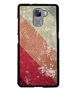 PrintVisa Designer Back Case Cover for Huawei Honor 7 :: Huawei Honor 7 (Enhanced Edition) :: Huawei Honor 7 Dual SIM (Jaipur Rajasthan Tribal Azitec Mobiles Indian Traditional Wooden)