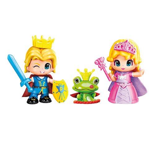 Famosa 700011163 - PinyPon Pack Principe e Principessa