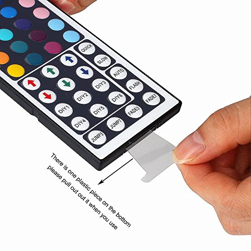 WenTop LED Flexible Wasserdichte Led Strip Kit 5050 5m RGB Led