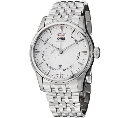 ORIS MEN'S 44MM STEEL BRACELET & CASE AUTOMATIC ANALOG WATCH 74576664051MB