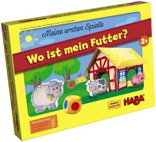 Haba 4679 - Meine erste Spielwelt Bauernhof - Wo ist mein Futter?