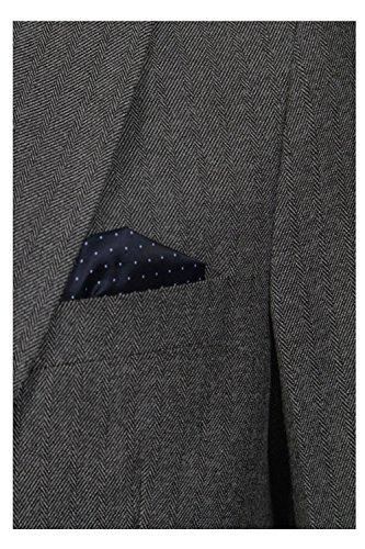 Hommes Tokyo Laundry Bellucci Veste Blazer OR Wrenbury Gilet Blazer Gris Foncé