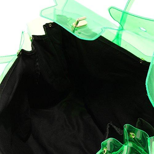 8373G borsa donna verde SHOP ART accessori borsetta bag women Verde